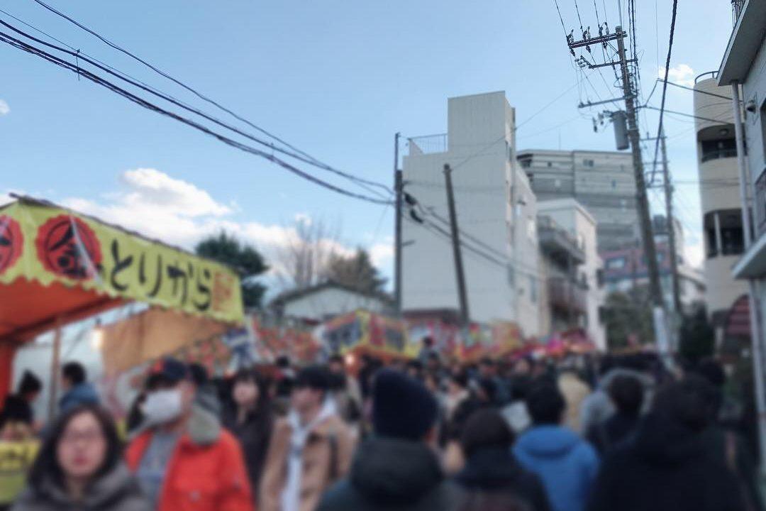横浜 初詣 屋台