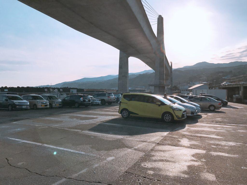 早川港 駐車場