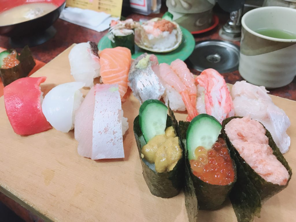 金沢 市場寿司 にぎり寿司 近江町市場